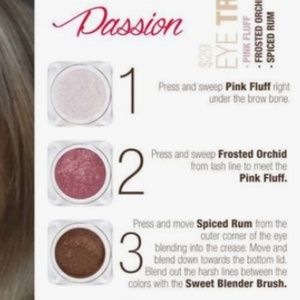Sweet Minerals Makeup - Passion eye shadow trio (sealed)